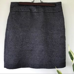 Office chic. Ann Taylor LOFT black skirt.